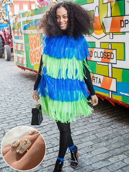 Solange Knowles Reportedly Loses Wedding Ring While on Mardi Gras Parade Route
