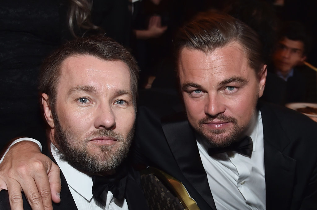 Pictured: Leonardo DiCaprio and Joel Edgerton