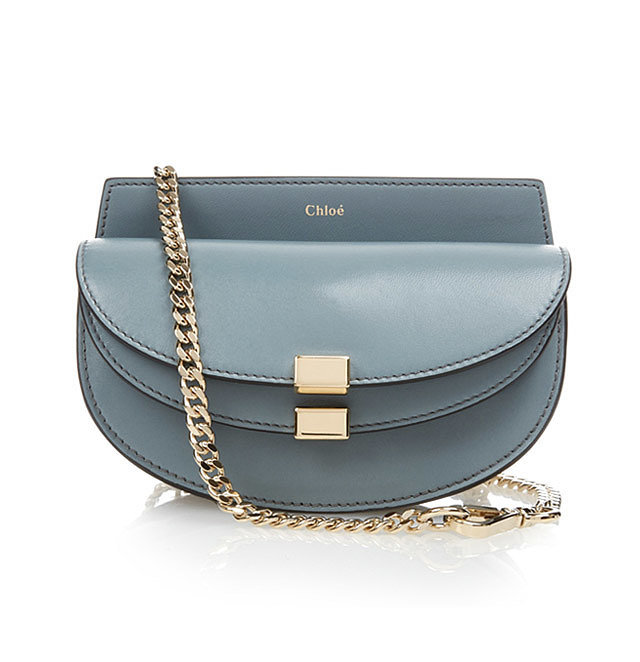 Chlo¨¦ \u0026#39;Georgia\u0026#39; Leather Cross-Body Bag ($813) | The Hottest Spring ...