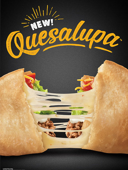 Taco Bell's New Quesalupa Has Arrived - and the Internet Is Very Pleased