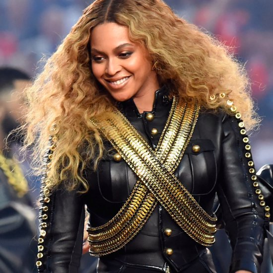Beyoncé's Super Bowl 2016 Nails
