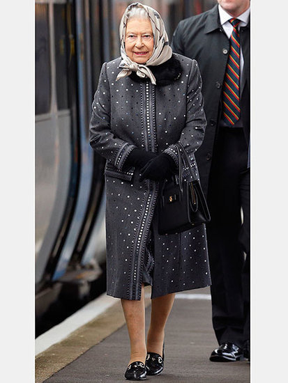 Why Queen Elizabeth II's Sandringham Train Outfit Was a Surprising Fashion Risk