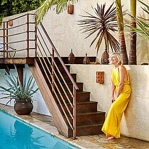 Inside Malin Akerman's eclectic Hollywood retreat