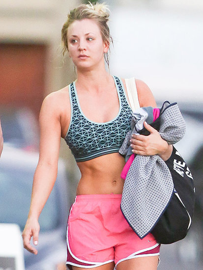 Kaley Cuoco Shows Off Athletic Body After Yoga Class in L.A.