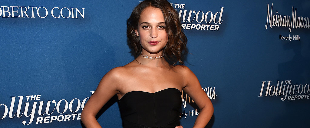 Alicia Vikander Upgrades an Otherwise Simple Outfit With Just 1 On-Trend Accessory