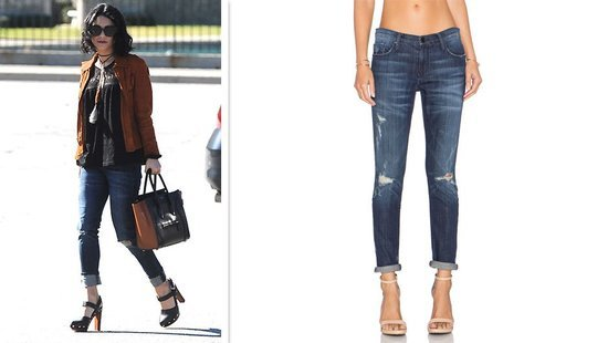 Vanessa Hudgens' Boyfriend Jeans Are A Weekend Essential–Hurry! Only 2 Sizes Left