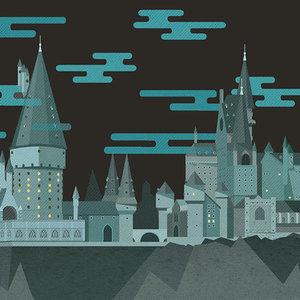 Harry Potter Moving Illustrations