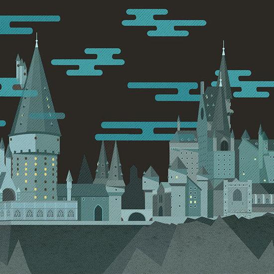Harry Potter Moving Illustrations