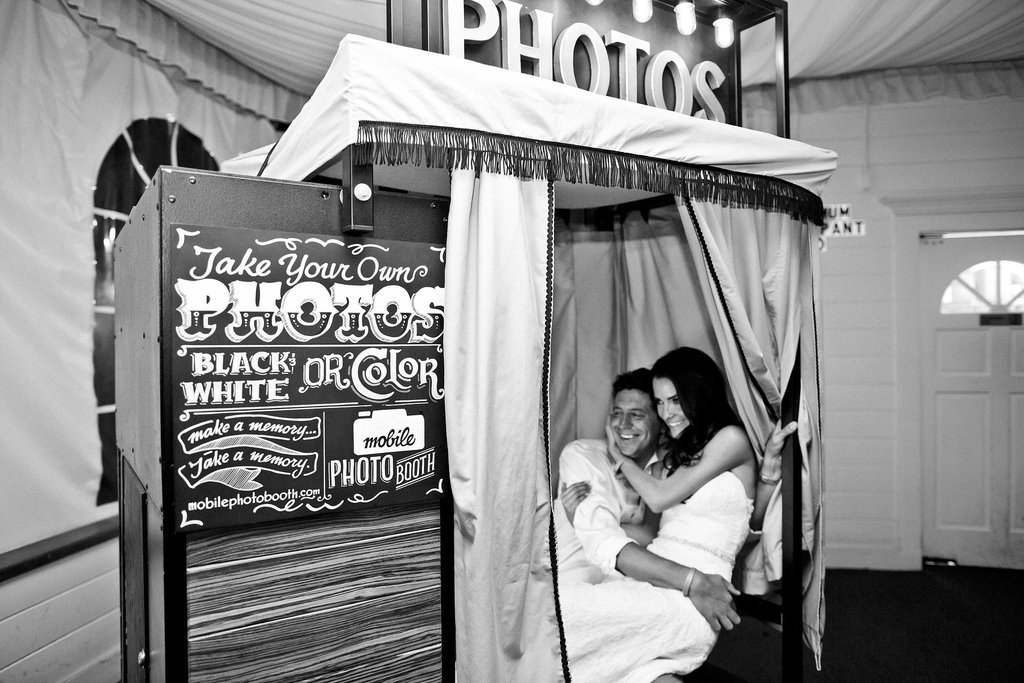 Sneaky Photo Booth Shot