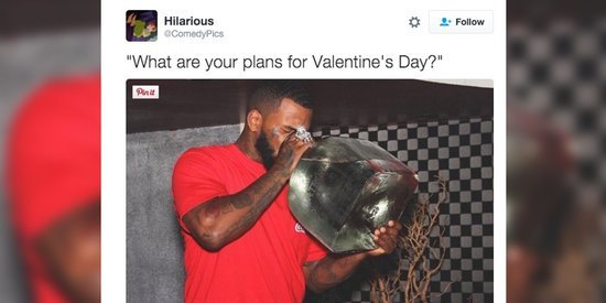 Funniest Valentine's Day Tweets