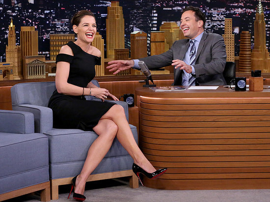 Even Katie Holmes Danced Along to the Super Bowl Halftime Show - Watch Her Best Beyoncé Moves!