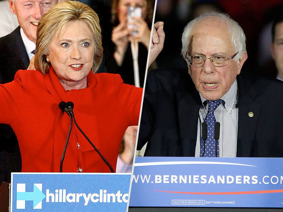 Bernie Sanders and Hillary Clinton to Face Off in Wisconsin Debate - as She Struggles to Win Back Young Female Voters