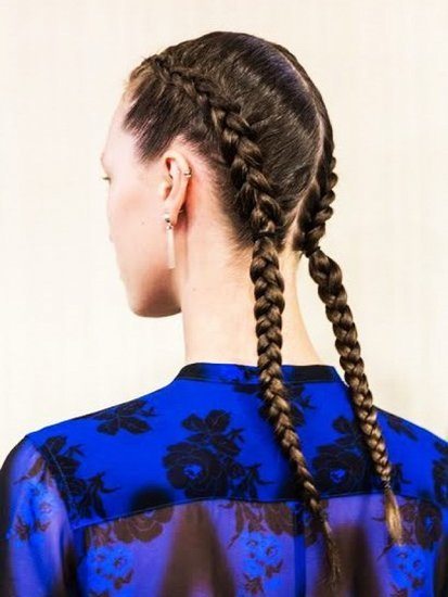 Spotted: A Kardashian-Favorite Hairstyle at NYFW
