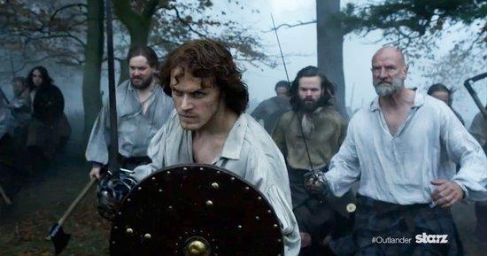 'Outlander' Season 2 Trailer Reveals Claire and Jamie's Pregnancy Drama: Get the Premiere Date