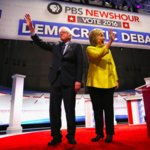 Sanders's Comments About Clinton Running Against Obama