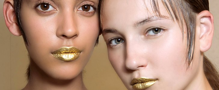 Shine On This Spring With the Sexiest Metallic Makeup