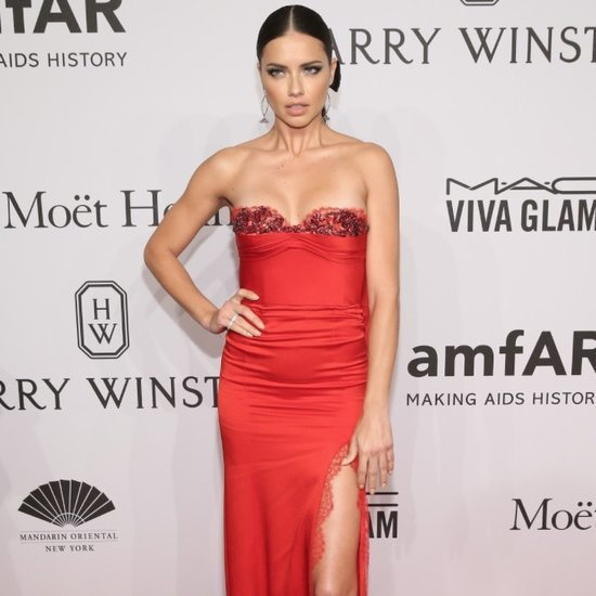 Adriana Lima at the amfAR New York Gala 2016