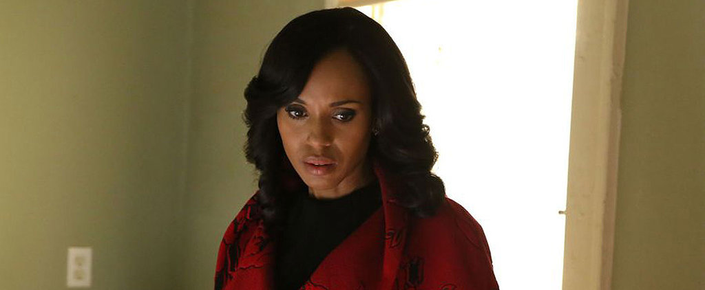 Olivia Pope Trades Her White Hat For a Red Coat