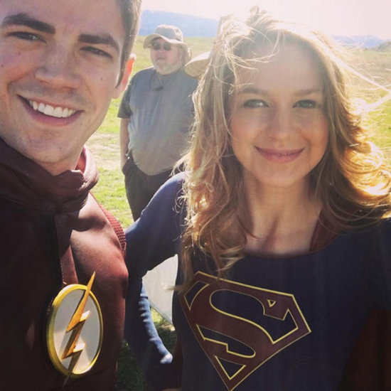 That Time The Flash Hung Out With Supergirl and Instagrammed Every Perfect Moment of It
