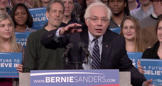 Jimmy Fallon or Larry David: Whose Bernie Sanders Impression Wins?