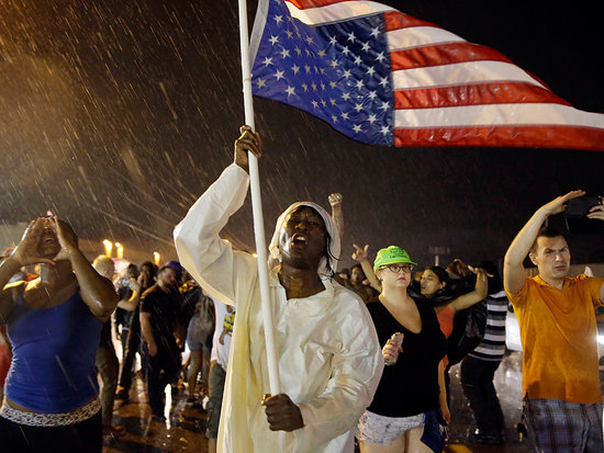 Justice Department Files Civil Rights Lawsuit Against Ferguson Over Police Conduct
