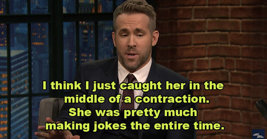 Ryan Reynolds Played Marvin Gaye Music While Blake Lively Was In Labor