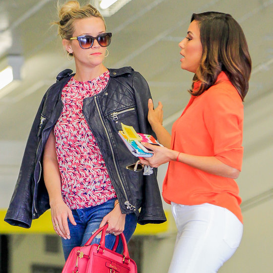 Eva Longoria and Reese Witherspoon in LA February 2016