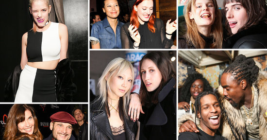 A$AP Rocky and Karlie Kloss Partied at Fashion Week