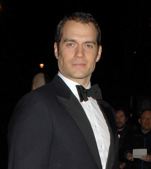 Henry Cavill's hair at BAFTA Film Gala in London ahead of Batman v Superman release