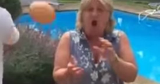 This Prankster Keeps Throwing Eggs To His Unsuspecting Mom