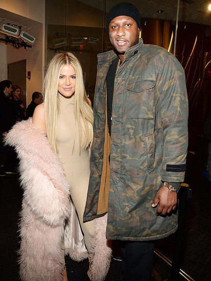 Khloé Kardashian Denies Dating Lamar Odom After Sitting Together at Yeezy Show: 'God Forbid Exes Are Cordial'