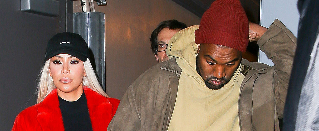 Kim Kardashian and Kanye West Kick Off Valentine's Day Weekend With a Broadway Date Night