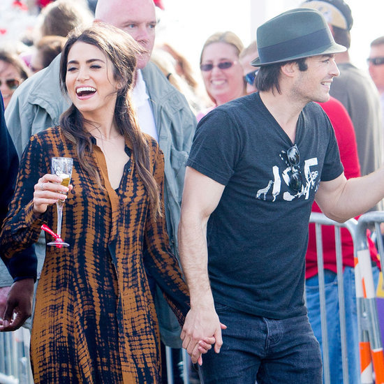 Ian Somerhalder and Nikki Reed at Mardi Gras 2016