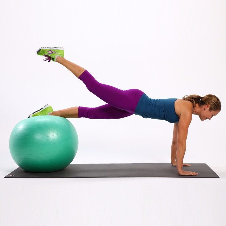 Stability Ball Workout Routine: Butt Exercises For Exercise Ball