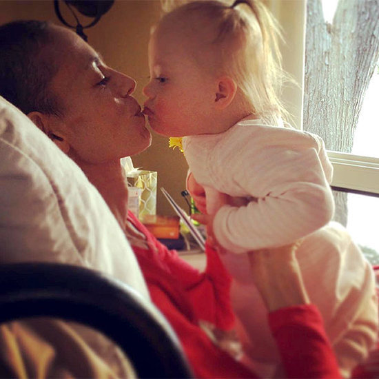 'Happy Valentine's Day Mama': Joey Feek Shares Sweet Smooch with Daughter Indiana