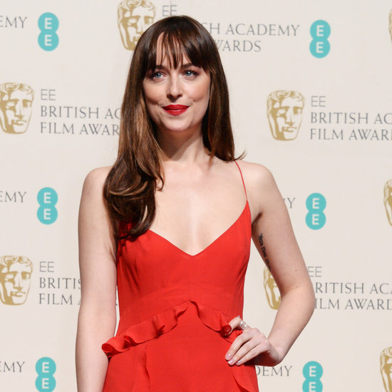 Dakota Johnson in Dior Gown at BAFTA Awards 2016