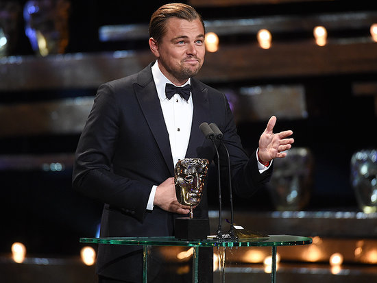 'Mom, Happy Birthday!' Leonardo DiCaprio Wins Best Actor BAFTA for The Revenant