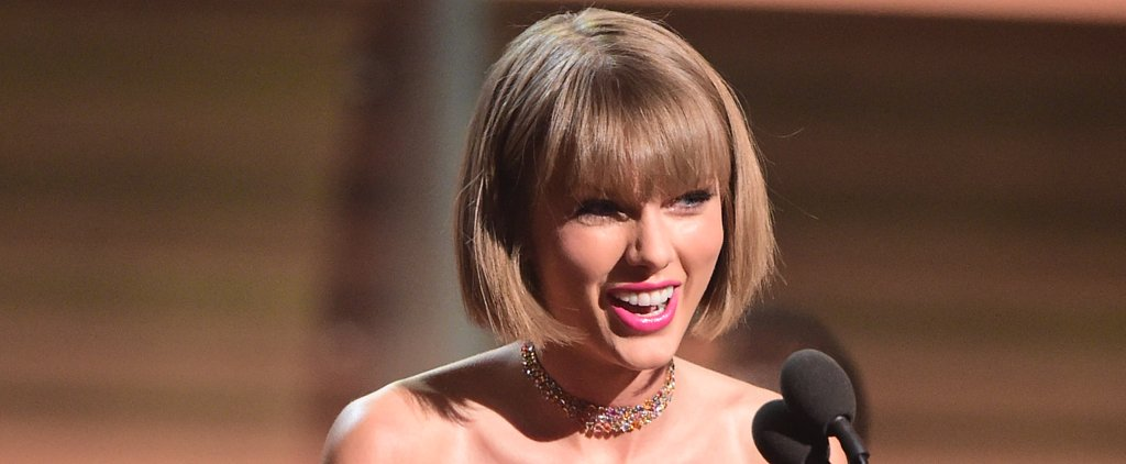 """Taylor Swift Responds to Kanye West's """"Famous"""" Comments During Her Grammys Acceptance Speech"""