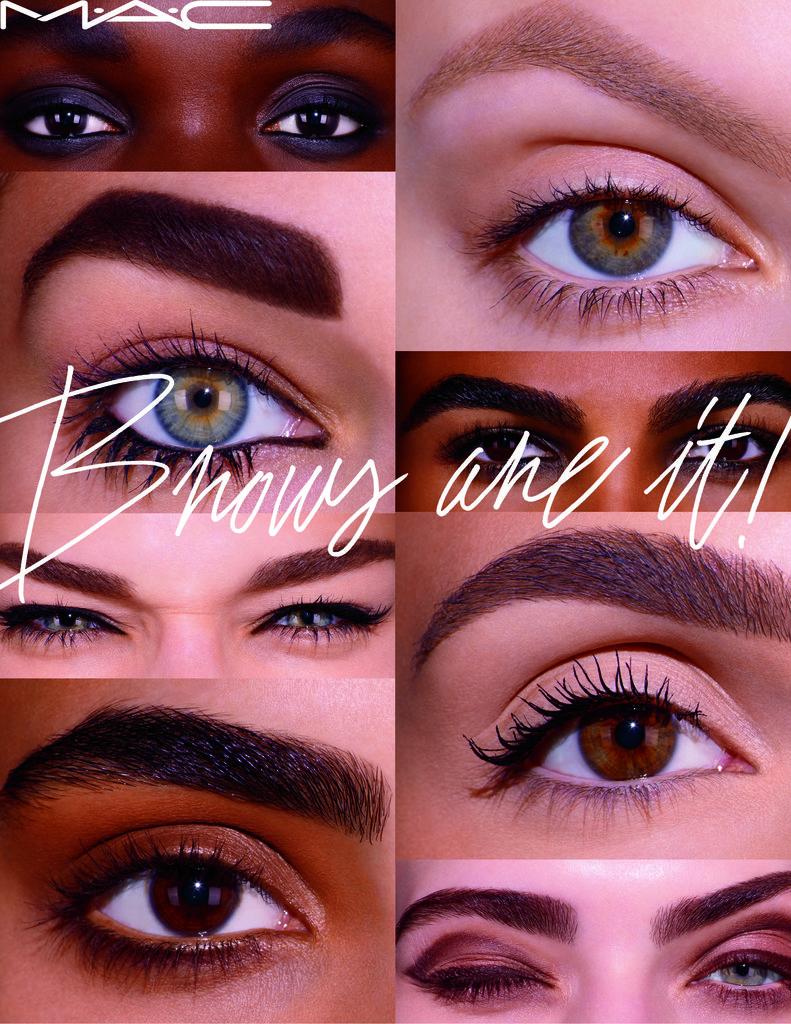 Eyebrow Makeup: MAC Cosmetics Brows Are It