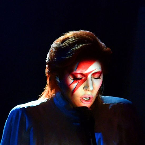 Here's Exactly How Lady Gaga Pulled Off That High-Tech David Bowie Tribute