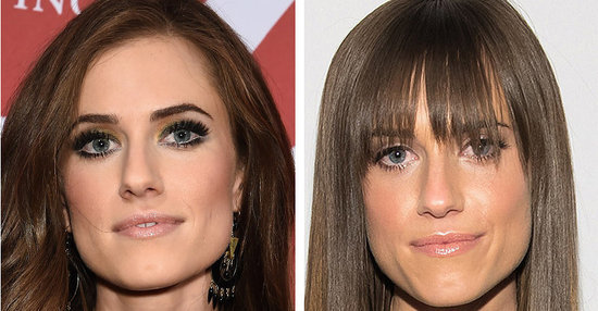 Allison Williams Looks Super Different With Bangs