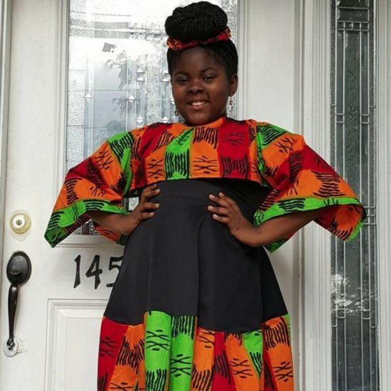 Bullied Girl Designs Fashion Line For All Sizes (Video)