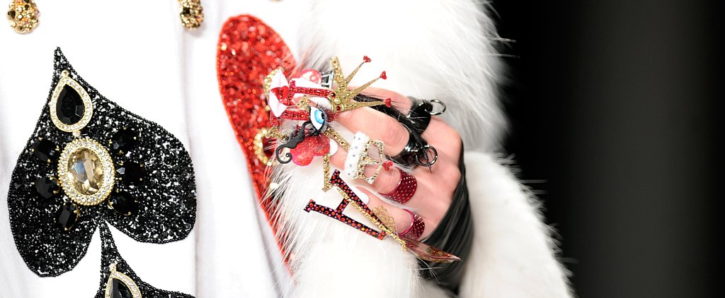 These Alice in Wonderland-Inspired Nails Took 900 Hours to Create!
