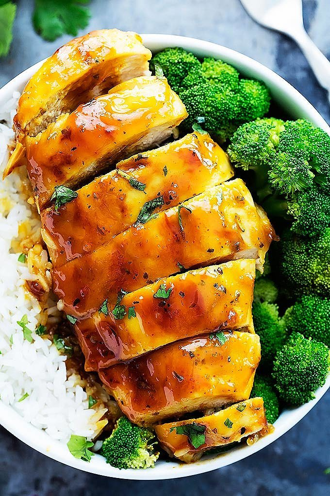 Baked Honey Mustard Chicken Recipe — Dishmaps