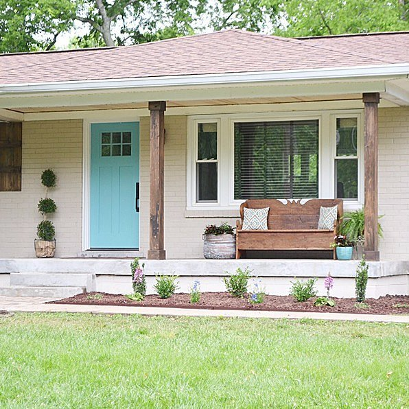 Home Exterior Makeover: DIY Home Exterior Makeover