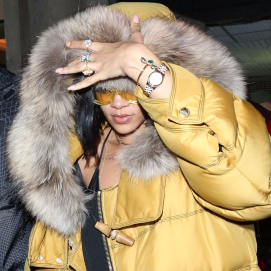 Rihanna and Drake in London Together February 2016