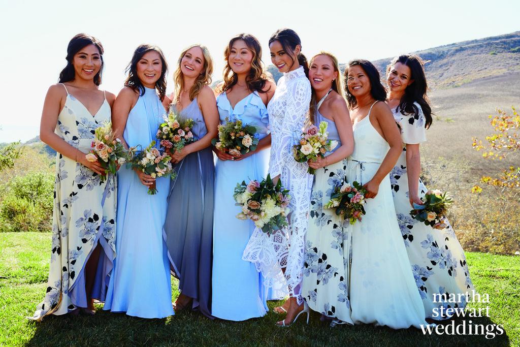 Jamie Chung 39 S Wedding Dress In Martha Stewart Weddings