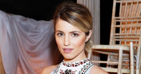 See Dianna Agron's Diamond Solitaire Engagement Ring