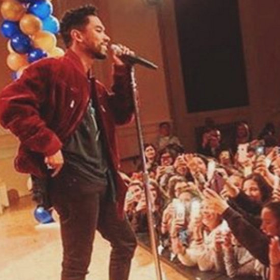 Miguel Surprise Performance at Dana Middle School 2016