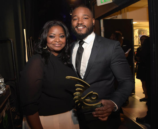 Octavia Spencer presents Ryan Coogler with Rising Star Award at the American Black Film Festival